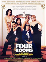 Affiche Four Rooms