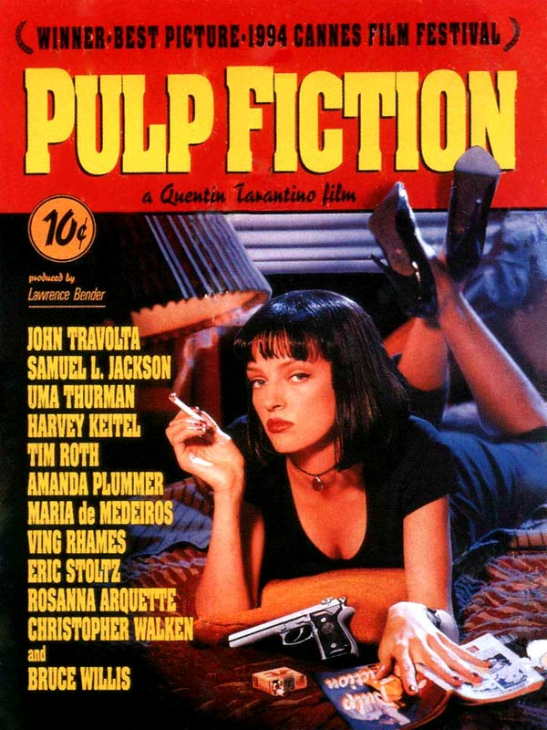 Affiche pulp fiction